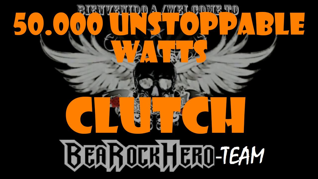 «50.000 Unstoppable Watts» – BeARockHero-TEAM
